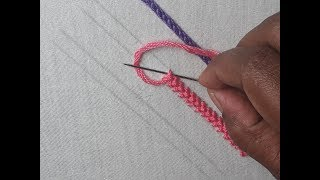 Three Basic Hand Embroidery Design For Beginners | Basic Embroidery Stitches