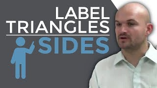 How To Label Triangles Depending On The  Length Of Their Sides