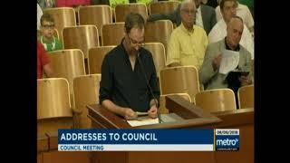 CCR Louisville Metro Council Speech         De-prioritizing Cannabis possession