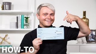 How to Read a Check... Explained in 90 Seconds | How to | GBR