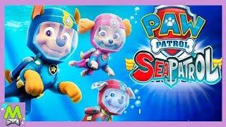 Щенячий Патруль Морские Спасатели.Вперед за Приключениями под Водой.Детский Летсплей Игры