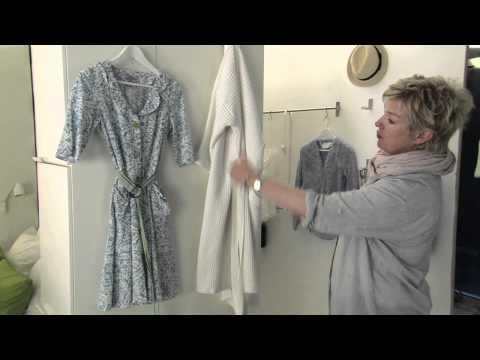 IKEA für kleine Räume: 14 m² mit begehbarem Kleiderschrank