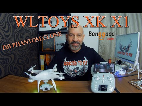 WELTOYS XK X1 COME UN DJI PHANTOM MINI