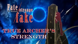 Fate Strange Fake | A Servant That Surpasses Gilgamesh? True Archer Hercules Power Breakdown