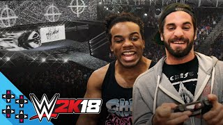 WWE 2K18: SETH ROLLINS & AUSTIN CREED enter the ROYAL RUMBLE! - UpUpDownDown Plays
