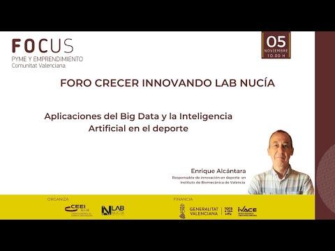 III Sesión Foro Crecer Innovando Lab Nucía - Aplicaciones de IA y Big Data en el deporte[;;;][;;;]