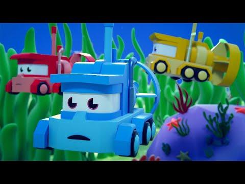 最好看的儿童汽车卡通片 - 海底 - 卡车闯天下 Truck Games