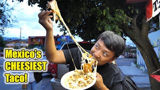 Mexico's CHEESIEST TACO! INSECT(Cricket & Ant) BREAKFAST & Authentic Mole in Oaxaca Mexico