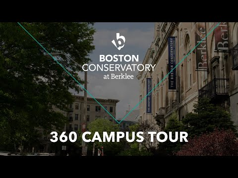 Boston Conservatory at Berklee 360 Campus Tour