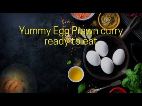 Egg Prawn Curry