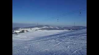 preview picture of video 'Wintersport am Bischofsberg bei Heiden'