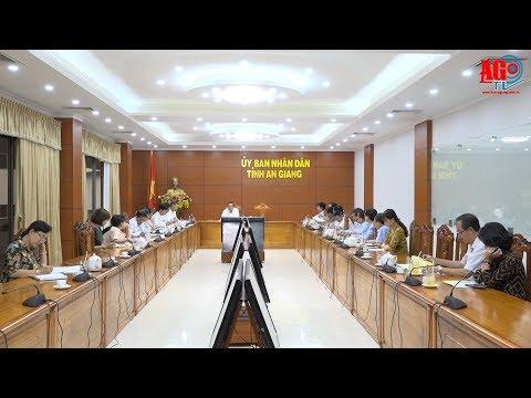 Chuẩn bị chu đáo công tác tổ chức Hội nghị xúc tiến đầu tư tỉnh An Giang 2018