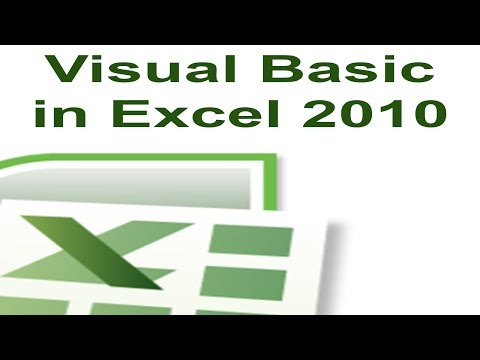 Excel 2010 VBA Tutorial 1 – Creating a Macro with Visual Basic For Applications