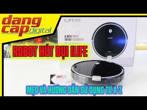 Dangcapdigital.vn - Hướng dẫn sử dụng Robot hút bụi ilife từ A-Z||Mẹo và cách khách phục các lỗi nhỏ