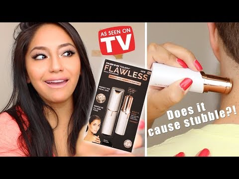 Finishing Touch Flawless (HAIR REMOVER)- DOES IT CAUSE STUBBLE?!? REVIEW, DEMO