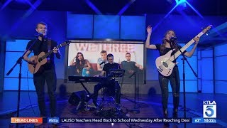 "America's Got Talent's ""We Three"" Performs ""Heaven's Not Too Far"" at KTLA Live"