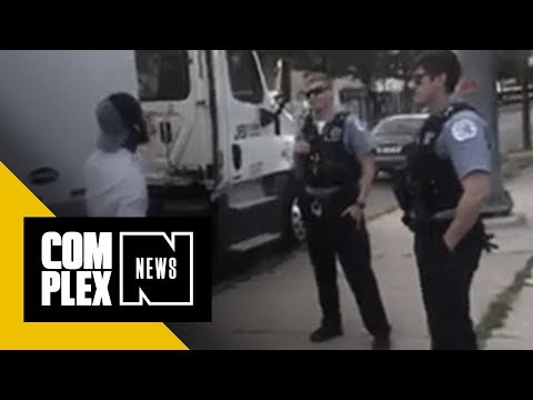 Chicago Police Allegedly Leave Sneaker Bait Truck