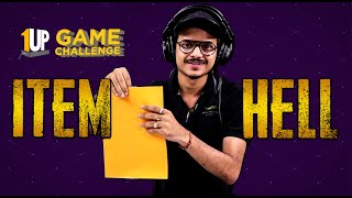 Item Hell Challenge with 8Bit Thug | 1Up Game Challenge | PUBG Mobile