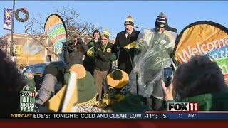 Green Bay rallies to support the Packers