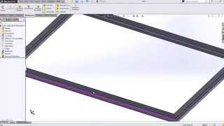 SOLIDWORKS - Creating Custom Configured Weldment Profiles