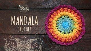Tutorial Mandala Crochet