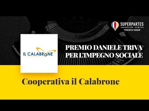 Premio Daniele Triva per l'impegno sociale, Cooperativa il Calabrone