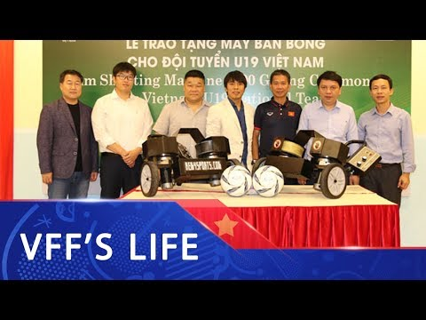 U19 Việt Nam có thêm trang thiết bị tập luyện hiện đại