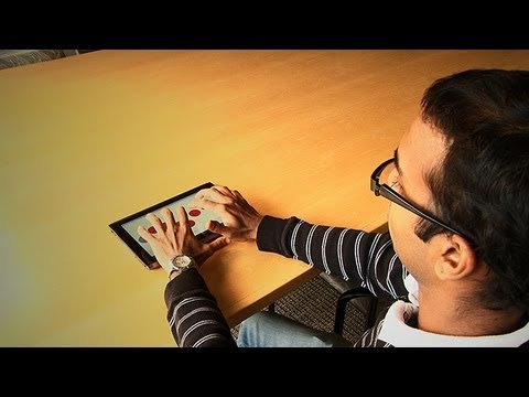 This App Could Make Tablets Accessible To The Blind