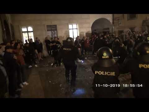 Policie ČR: Zákrok SPJ Praha