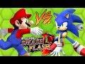 Mario Vs Sonic Super Smash Flash 2 Jogos Online