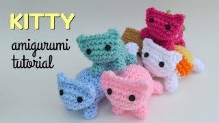 Cat Amigurumi Tutorial   Beginner Crochet   Kitty Mod Free Pattern