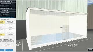 U.S. Chemical Storage Design & Build Tool