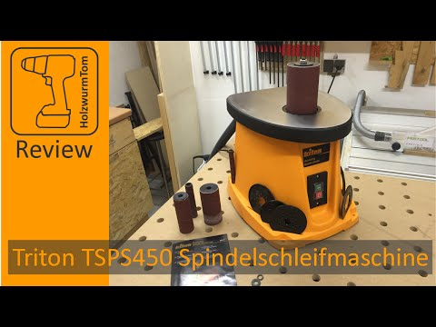First Look - Triton Spindelschleifmaschine TSPS450 Spindle Sander (with english subtitles)