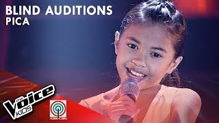 Pica Mabitag - Hanggang May Kailanman | Blind Auditions | The Voice Kids Philippines Season 4