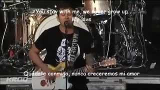 Angels and Airwaves-Saturday Love Lyrics y Subtitulos LIVE 2012