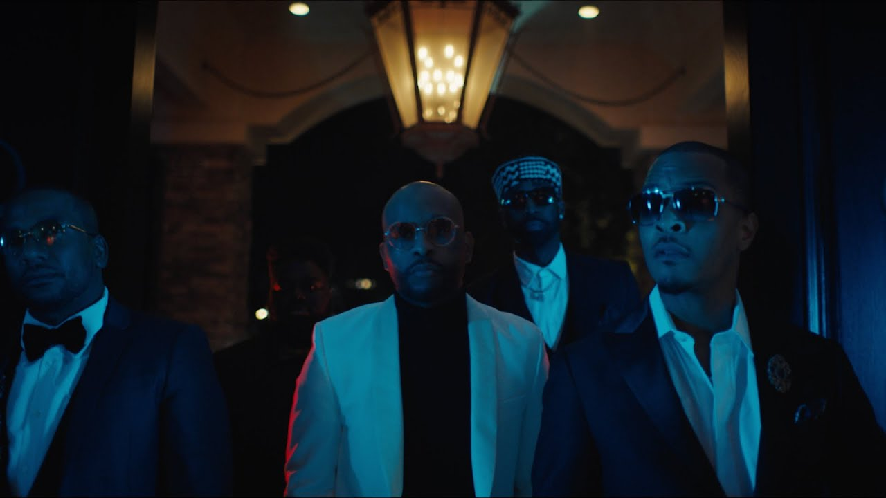 Royce Da 5'9 - Black Savage Ft. Sy Ari Da Kid, White Gold, CyHi The Prynce & T.I. (Official Music Video)