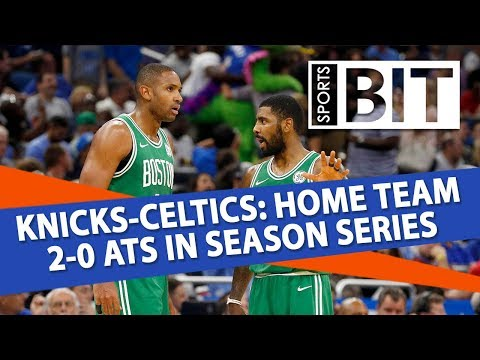 New York Knicks at Boston Celtics | Sports BIT | NBA Picks