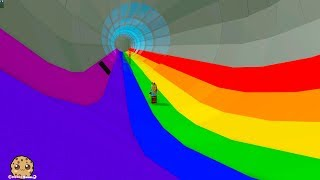 End of the Rainbow ? Following Colorful Rainbows + Tycoon Roblox Video Game
