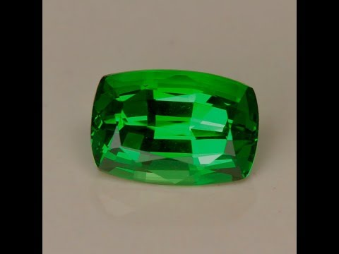 Tsavorite Garnet Antique Cushion 2.14 Carats
