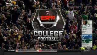 JaMycal Hasty for the Baylor TD in the Cactus Bowl