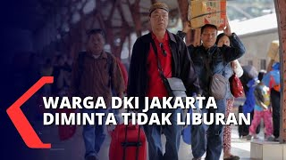 Bepergian ke Luar Daerah Jadi Tren saat Libur Panjang, Wagub DKI Imbau Warga Jakarta Tetap di Rumah