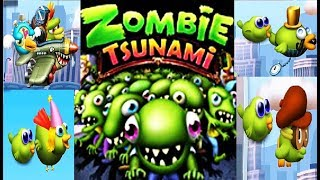 Zombie Tsunami #44 Игровой мультик для детей про зомби, веселый детский мультик игра для малышей