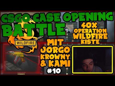 ★ 40x WILDFIRE-KISTE mit Jorgo, Krowny & Kami - CSGO Case Opening #10 ★