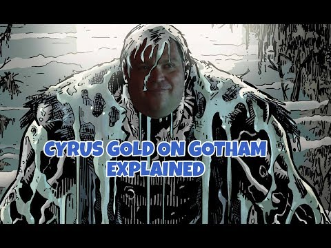 Cyrus Gold Butch Explained Solomon Grundy Coming To Gotham Season 4