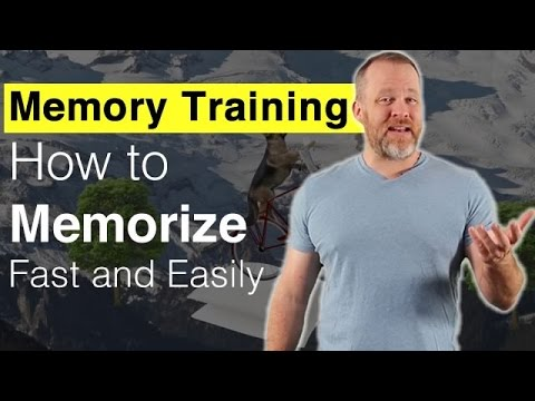 Memory Training - How to Memorize Fast and Easily - YouTube