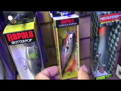 Visita a tiendas de pesca