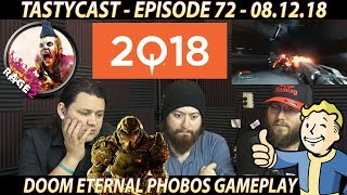 We REACT to Quakecon 2018's RAGE 2 Fallout 76 and Doom Eternal gameplay