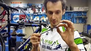 Видео: Замена рубашек на велосипеде