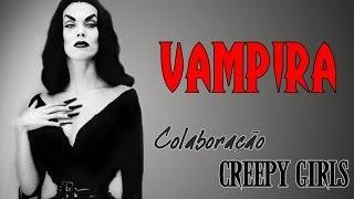 Vampira (Maila Nurmi) makeup - Colaboração Creepy Girls