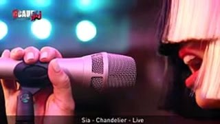 Sia's Full Interview + Performances With Cauet On NRJ (2015)